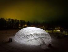 Pykrete Dome